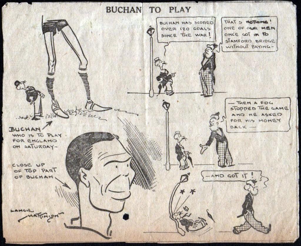 W - Buchan Cartoon