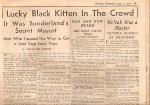Lucky Black Cat - 1937 FAC Final