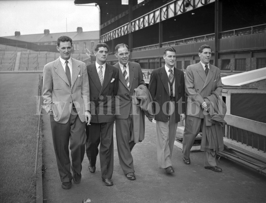 W - Players At Roker Park 1953