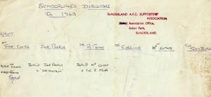 W - SAFC Directors 1963 Back.