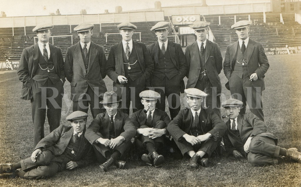 W - SAFC Players With Caps 1922