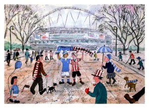 SAFC v Man City - League Cup Final 2014