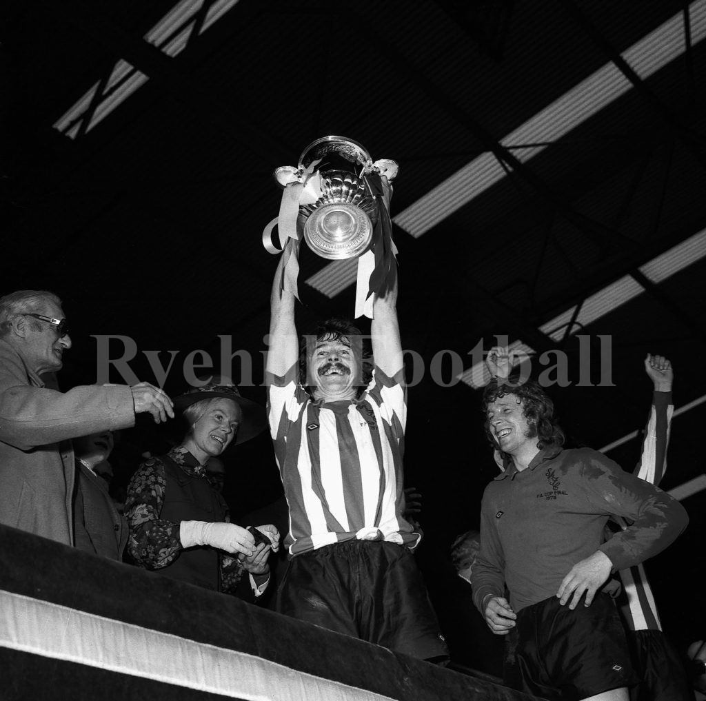Bobby Kerr Lifts The FA Cup
