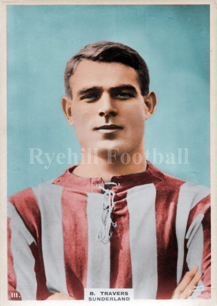 Sunderland AFC's Barney Travers led an eventful life