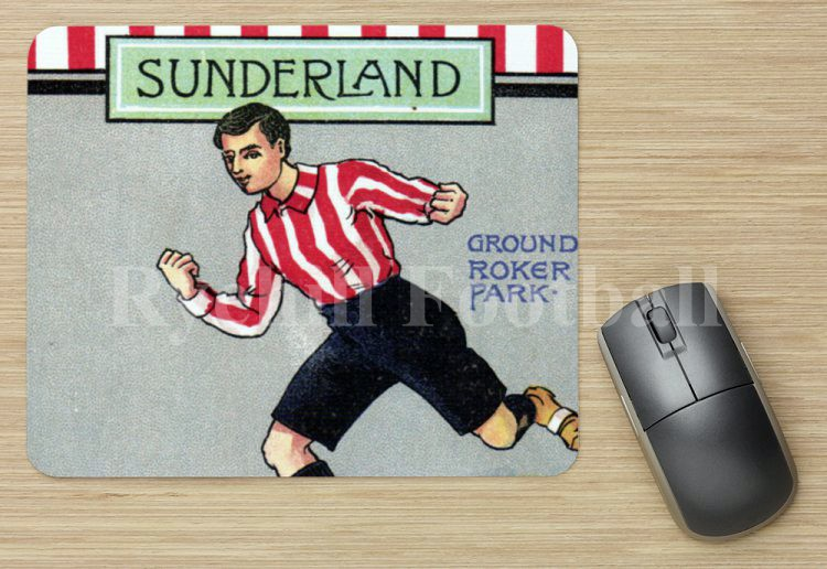 Beautiful SAFC Mouse Mat taken from an original early 1900's Valentine's Card.