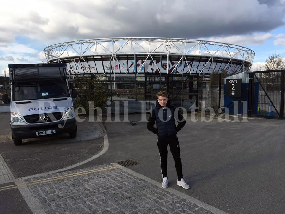 Harry at West Ham