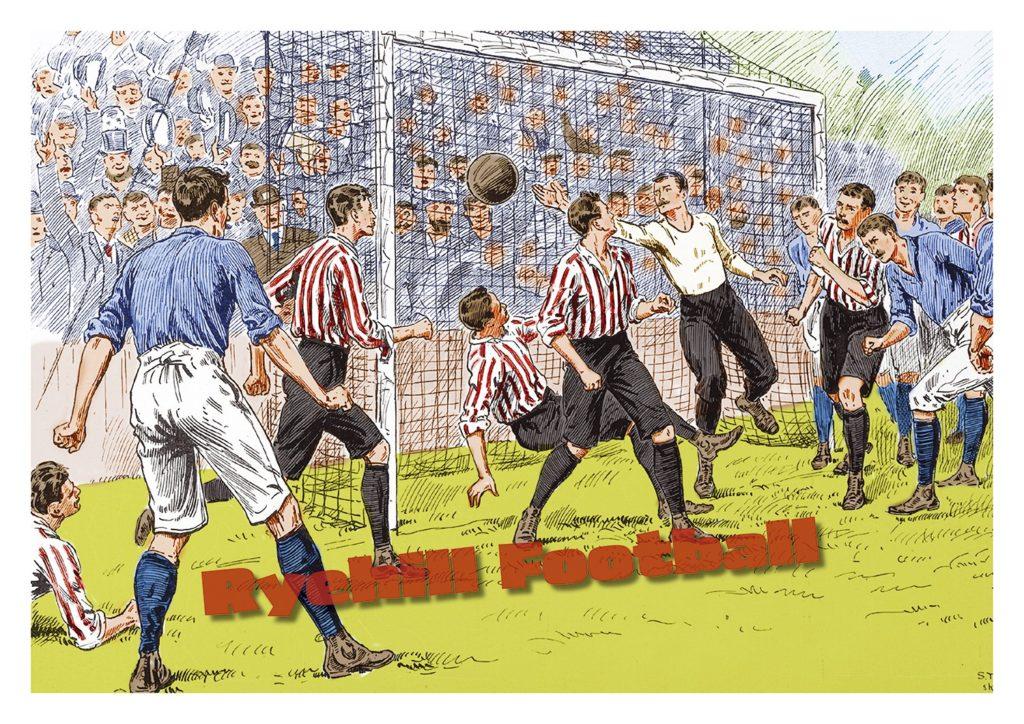 v Everton 1894/95