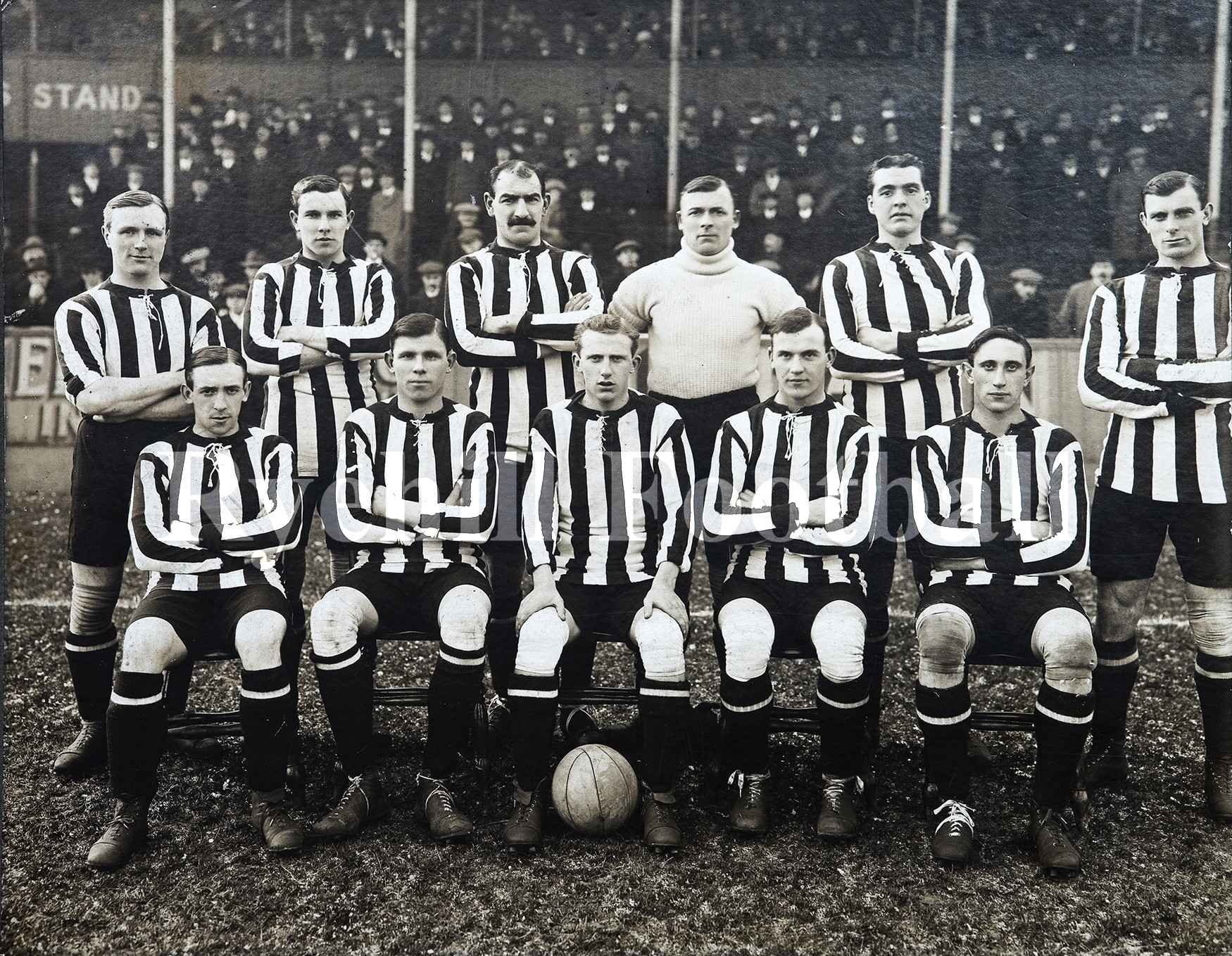 SAFC 1912/13; Almost The Double!