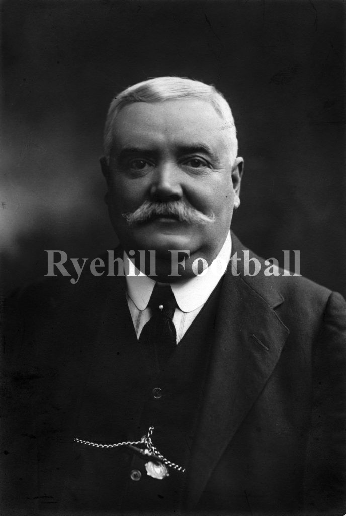 Sunderland AFC Manager Tom Watson in later life