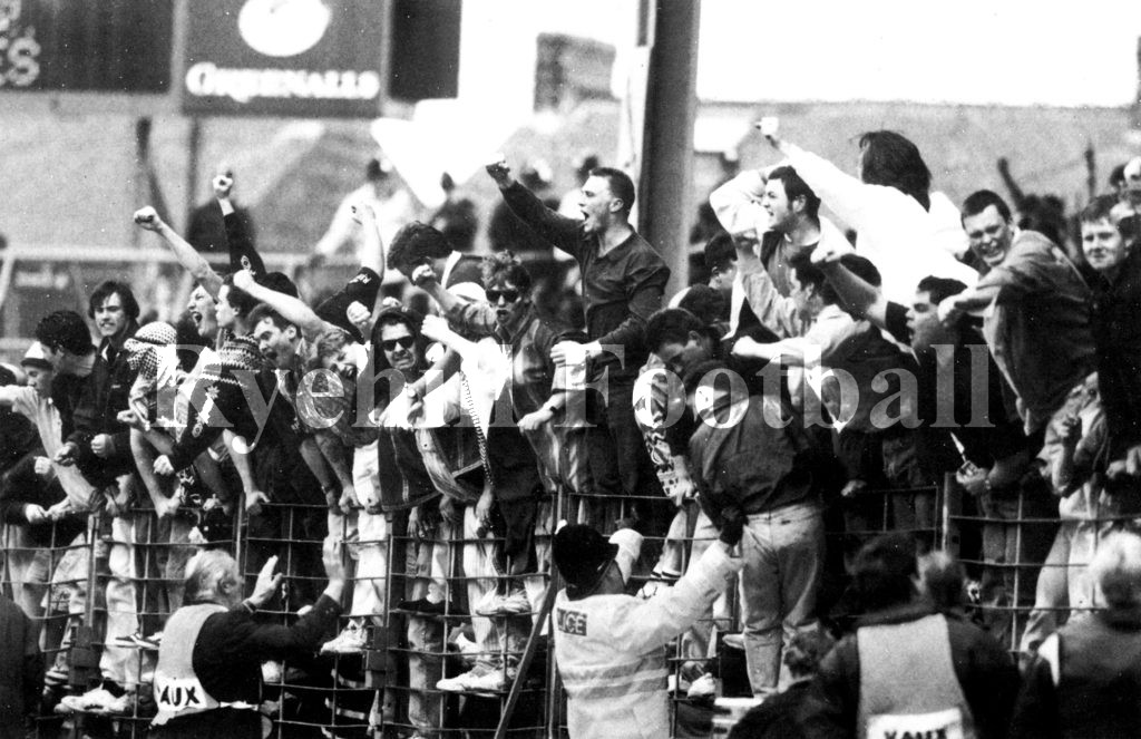 Devotion to the cause at Maine Road 1991
