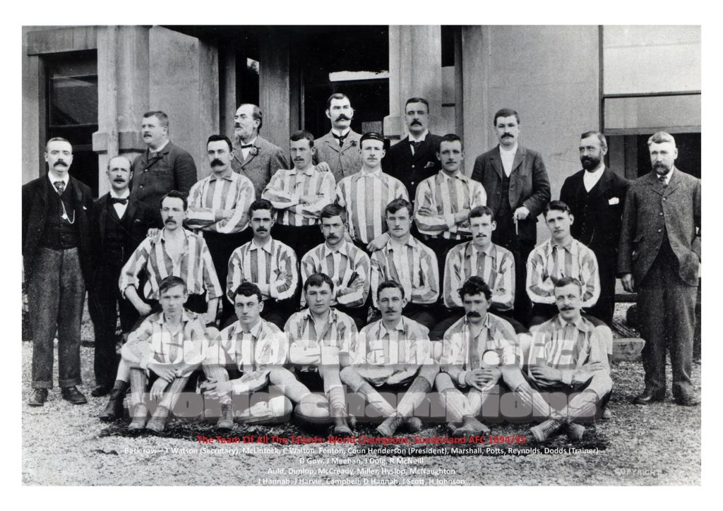 Team Of All The Talents 1895 World Champions