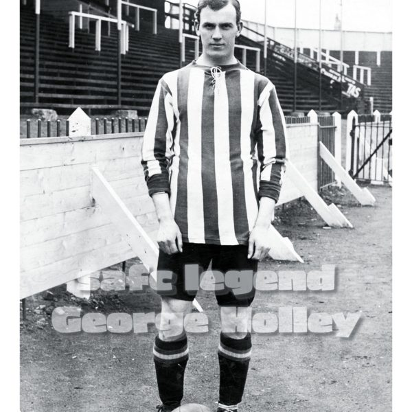 Sunderland AFC legend, George Holley