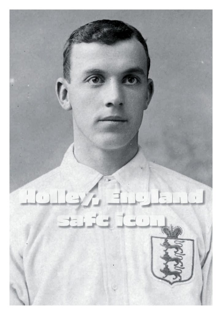 George Holley, Seaham, Sunderland AFC and England