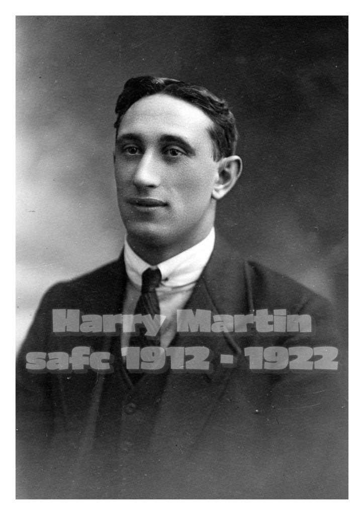 Harry Martin in his civilian clothes circa 1920