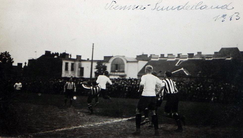 austria-vienna-v-sunderland-1913-tour