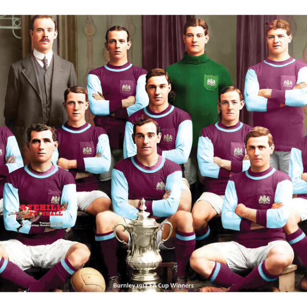 297 x 420 - Burnley 1914 a3 print smaller
